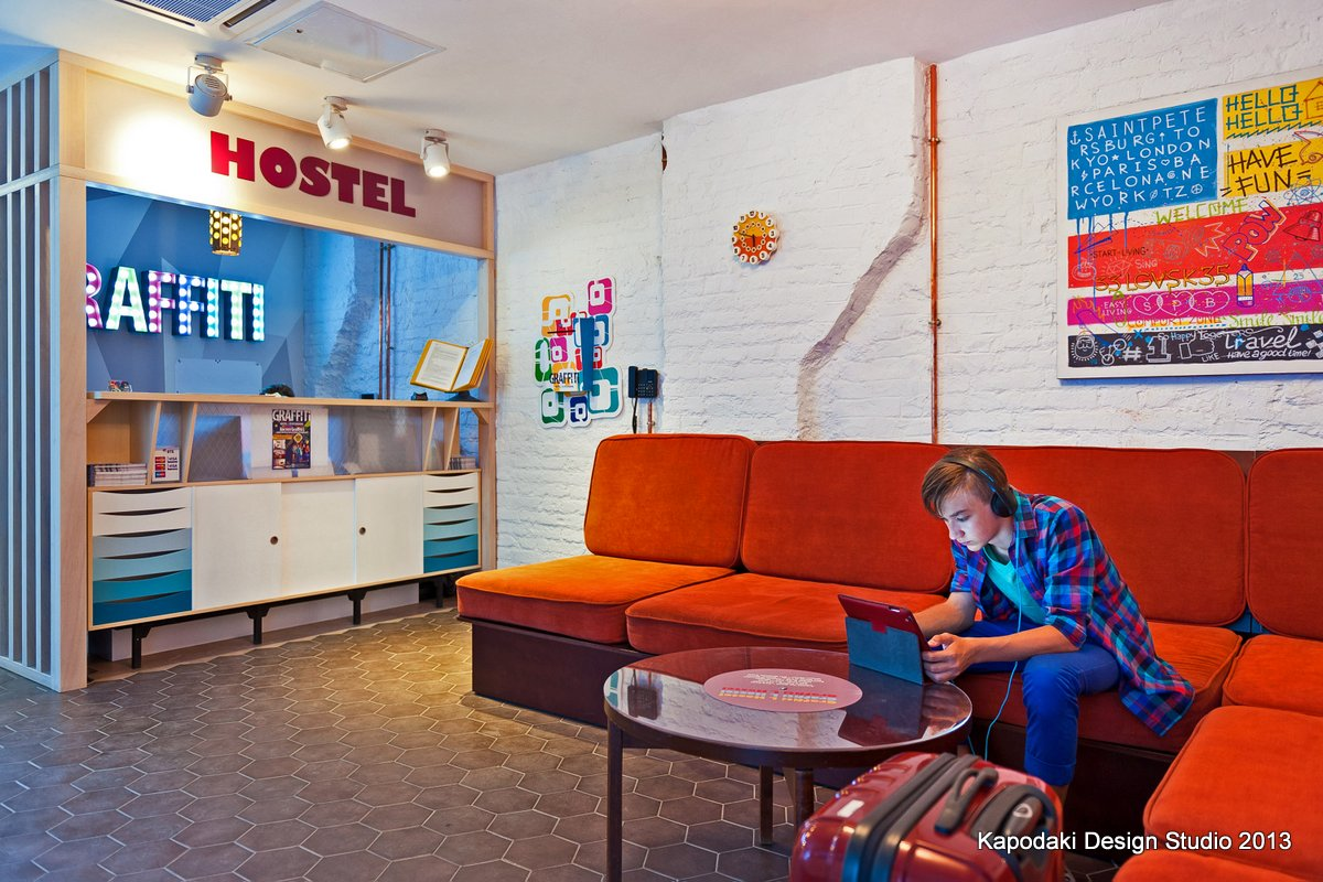 Graffity Hostel - Kapodaki